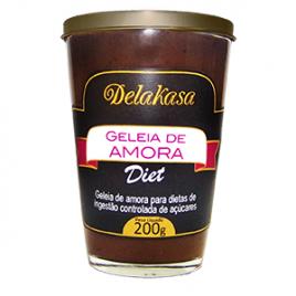 Geléia de amora Diet 200g (Delakasa)