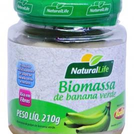 Biomassa de banana verde 210g (NaturalLife)