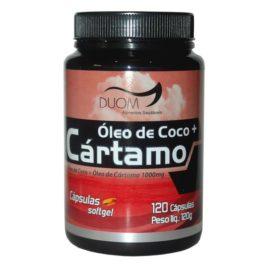 Óleo de cartamo + coco 120 cps (Duom)