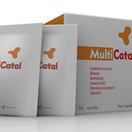Multi Catal 30 sachês (Catalmedic)