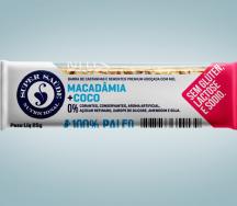 Barra nuts Macadâmia + coco 25g (Super Saúde)