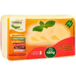 Queijo mussarela vegano 480g (Goshen)