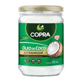 Óleo de coco extra virgem 500ml (Copra)