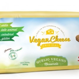 Queijo mussarela vegano 480g (Super Bom)