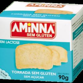 Torrada sem glúten e açúcar 90g (Aminna)