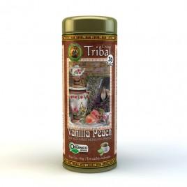Chá mate sabor baunilha/pêssego 30 sachês (Tribal)