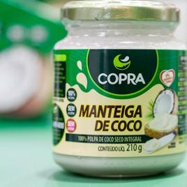 Manteiga de coco 210g (Copra)