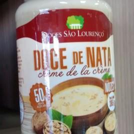 Doce de Nata c/ Nozes 395g (Doces São Lourenço)