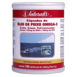 Óleo de Peixe Omega-3 100 cps (Naturalis)