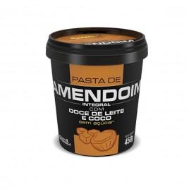 Pasta de Amendoim com Doce de Leite e Coco 450g (Mandubin)