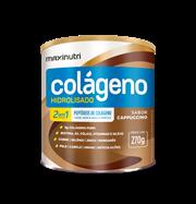 Colágeno Hidrolisado Cappuccino 270g (Maxinutri)