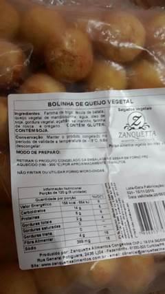 Bolinha de Queijo 500g (Zanquetta)