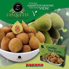 Coxinha de Jaca Verde 500g (Zanquetta)