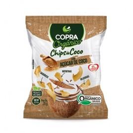 Chips de Coco com Açúcar de Coco 20g (Copra)