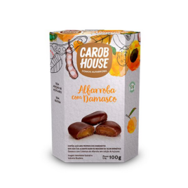 Alfarroba com Damasco 100g (Carob House)