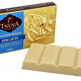 Barra de Cobertura Chocolate Branco – 250g (Tnuva)