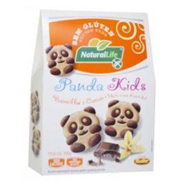 Biscoito Amanteigado Panda kids Baunilha e Cacau – 100g (Naturallife)