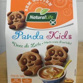 Biscoito Amanteigado Panda kids Doce de Leite – 100g (Naturallife)