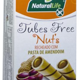 Tubes com Pasta de Amendoim – 50g (Naturallife)