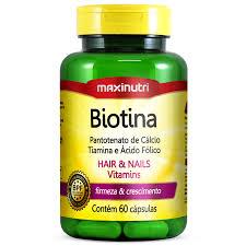 Biotina – 60cps (Maxinutri)
