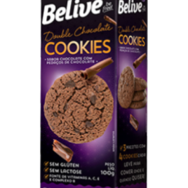 Cookies Double Chocolate – 100g (Belive)