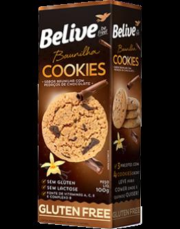 Cookies Baunilha – 100g (Belive)