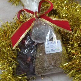 Kit de Chá Erva doce e Hibisco