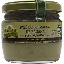 Patê de Biomassa com Azeitona – 120g (Alimentar Orgânico)