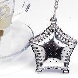 Infusor de chá pequeno em forma de estrela