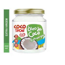 Óleo de coco Extra Virgem – 200ml (Coco Show)