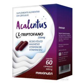 L-Triptofano Acalentus – 60cps ( Maxinutri)