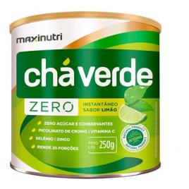 Chá Verde Solúvel Zero Limão...