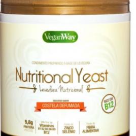 Nutritional Yeast Em Pó Sabor...