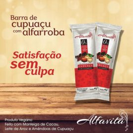 BARRA DE ALFARROBA E CUPUAÇU 40G