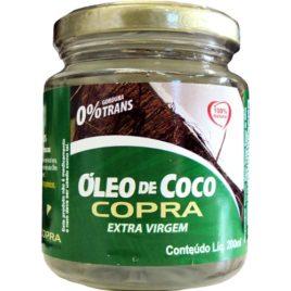 Óleo de coco extra virgem 200ml...