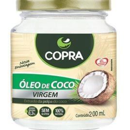 Óleo de coco virgem 200ml (Copra)