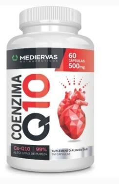 Coenzima Q10 60cps (mediervas)