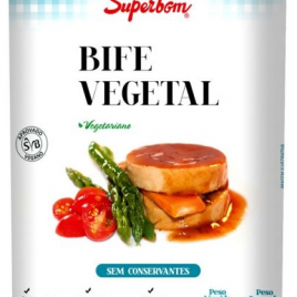 Bife Vegetal Superbom 300g