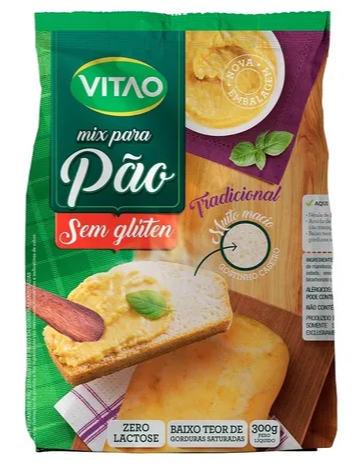 Mix mistura para pão