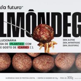 ALMÔNDEGA VEGETAL  FAZENDA FUTURO-300G