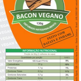 Bacon Vegano-Naturinni-130g