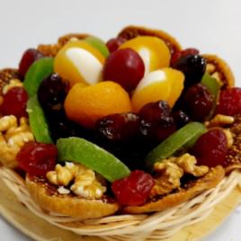Prato Decorado de Frutas 420g